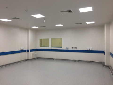 Hygenic clean rooms, installing clean rooms UK